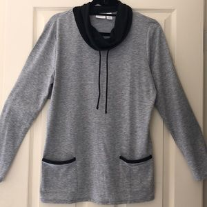 Chico's Weekends NWOT soft cowl neck top